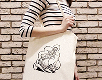 Mermaid Totebag
