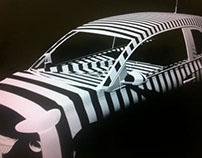Vauxhall Adam Guerrilla Projection
