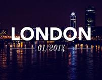 London, Jan '14