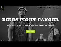 Bikes Fight Cancer Responsive Redesign