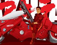 Akira poster fanart
