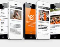 DailyOrange.com Responsive Redesign