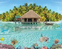 Turkish Airlines / Maldives Print