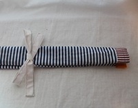 Striped Tool Roll