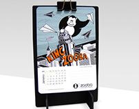 Calendário ZOOBA 2014
