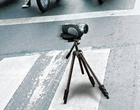 "Sony Location-Free TV ""Crosswalk"" print ad"