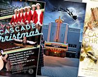 Cascade Christmas Show Posters