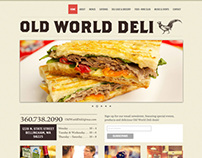 Old World Deli Web Site