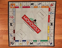 Monopoly Board Pillowcase
