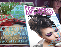 C4 Hollyoaks - Magazine Design