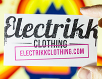 Electrikk Clothing Business Card