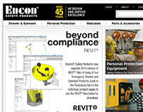 Encon Website Redesign