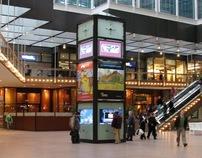 IDS Center, Minneapolis — Digital Kiosk and Clock Tower