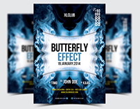 Butterfly Effect Party Flyer/Poster - 06