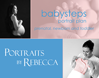 Full Page Ad: Portraits By Rebecca
