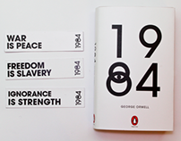 1984 Bookcover Redesign