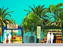 Bukatoko.com Header Illustration (2010)