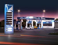Kuzkey gas station