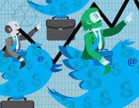 Ilustración, Articulo -Twitter - Comprar Acciones