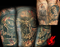 Cover Up Tattoos by Jackie Rabbit
