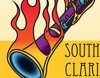 SouthFlorida Clarinet Fest poster illustration & design