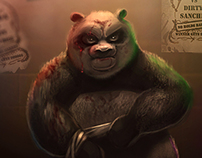 KungFuPanda Goes Hardcore