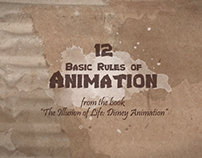 12 Rules of Animation