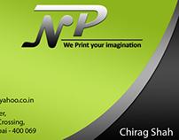 Nisarg Printers_Business Card