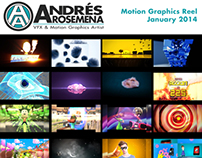 Motion Graphics Reel - January 2014