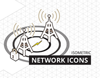 Isometric Network Icons