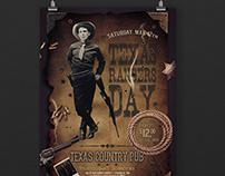 Rangers Event Flyer