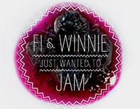 Fi and Winnie Jam