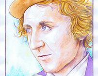 Gene Wilder - Watercolor/Paiting