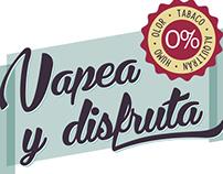 Logotipo Vapea y Disfruta (2013)