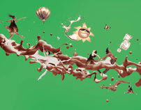 Nestle | Milo sensation illustration