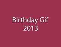 Birthday Gif 2013