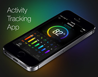 Mysterious Activity Tracking App