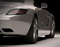 Mercedes SLS Studio renders