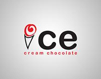 logo ice cream chocolate