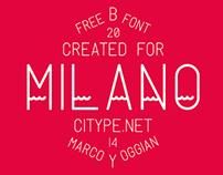 Milano - Free Font