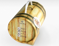 Wine barrel / design packaging