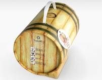 Wine barrel / design packaging