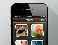 AcerCloud Mobile App UI Design (iOS) @Acer
