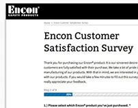 Encon Survey Forms & Site