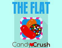 Flat Candy Crush icon