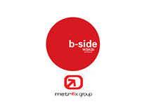 Hanging Logo for B-side Coffe Shop