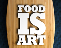 Food is art