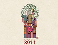 Desk Calendars 2014