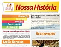 Campanha para licitação da Prefeitura de Pedro Leopoldo