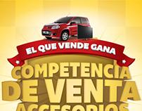 / Campaña competencia de vendedores Fiat PostVenta
